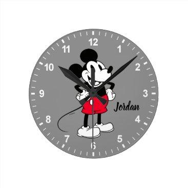 Classic Mickey Mouse | A True Original Round Clock