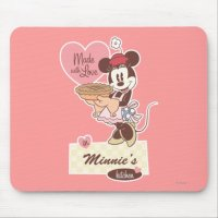 Classic Minnie | Kitchen Mouse Pad | Zazzle