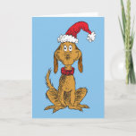 Classic The Grinch | Max - Santa Hat Holiday Card