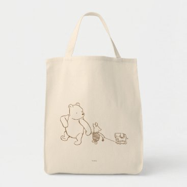 Classic Winnie the Pooh and Piglet 2 Tote Bag