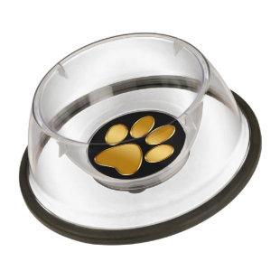 Classy Acrylic Dog Bowl Pet Bowl