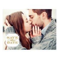 Classy Frame Save the Date Postcard | Zazzle.com