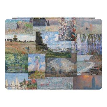 Claude Monet - Masterpieces Patchwork iPad Pro Cover
