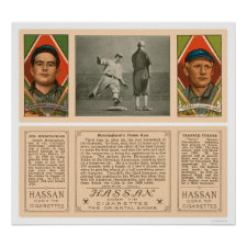 Cleveland Indians Baseball 1912 Print