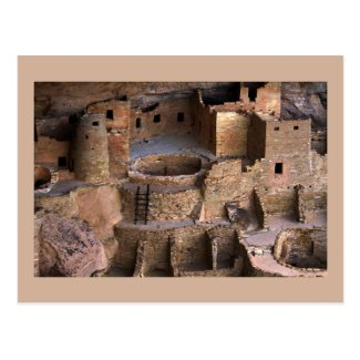 Cliff Palace, Mesa Verde National Park, Colorado Postcard