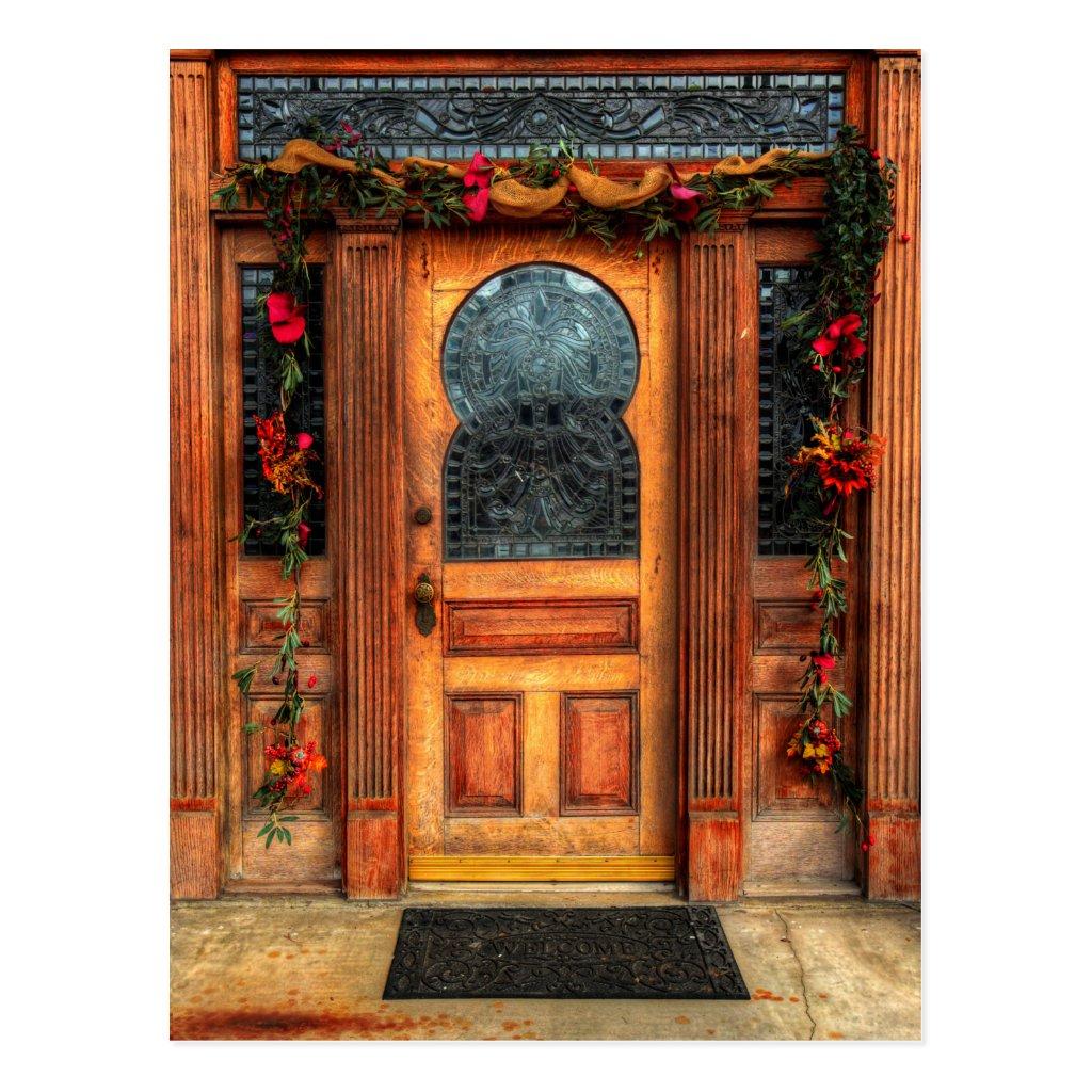 Closed Door Postcard