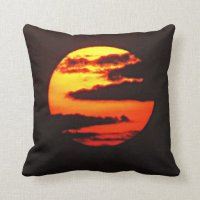 Clouded Sun Pillow | Zazzle