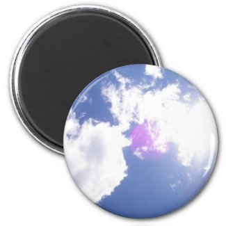 Clouds with Orb Magnet magnet