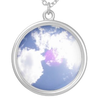 Clouds with Orb Necklace necklace