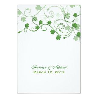 Celtic Rose Wedding Invitations