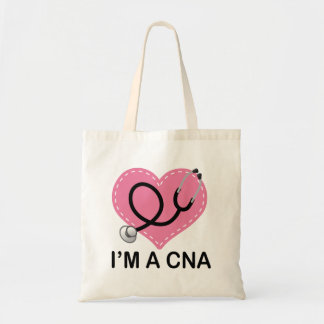 CNA Heart Stethoscope Canvas Bags