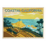 Coastal California Postcard