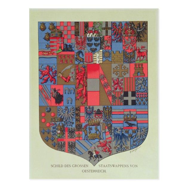 Wilhelm Austro Hungary Empire Coat Arms
