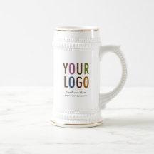 Coffee Beer Stein Custom Company Logo Promotional