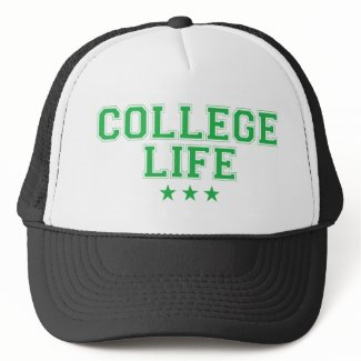 College Life - Green hat