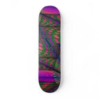 Color Synthesis Skateboard by CricketDiane skateboard