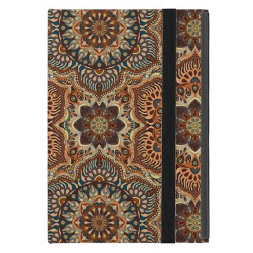 Colorful abstract ethnic floral mandala pattern de iPad mini case