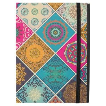 "Colorful Bohemian Mandala Patchwork iPad Pro 12.9"" Case"
