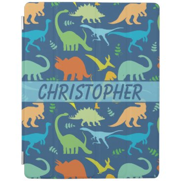 Colorful Dinosaur Personalize iPad Smart Cover