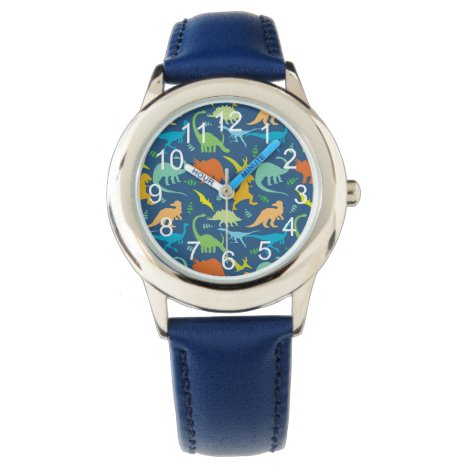 Colorful Dinosaurs Watch