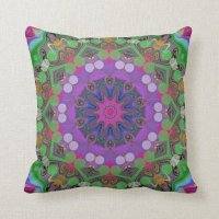 Colorful Event. Throw Pillow | Zazzle