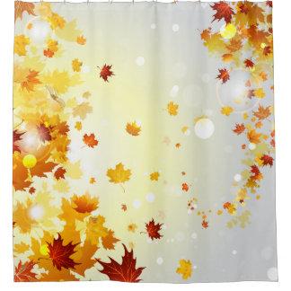 Autumn Leaves Shower Curtains Zazzle