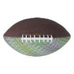 Colorful Pastel Zigzag Pattern Football