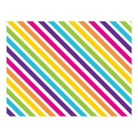 Colorful Rainbow Diagonal Stripes Gifts for Teens Postcard ...