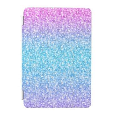 Colorful Retro Glitter And Sparkles iPad Mini Cover