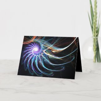 Colorful star - Card card