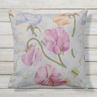 Sweet Pea Pillows - Decorative & Throw Pillows | Zazzle