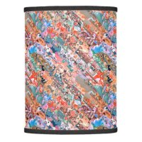 Colorful Textured Abstract Lamp Shade | Zazzle