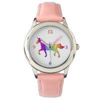Colorful Unicorn Wrist Watch