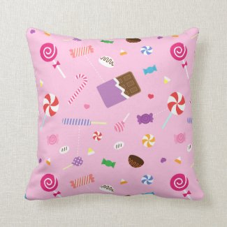 Girls Room  Pretty Throw Pillows