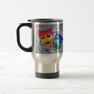 Comedy and Tragedy Mug