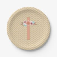 First Holy Communion Plates | Zazzle