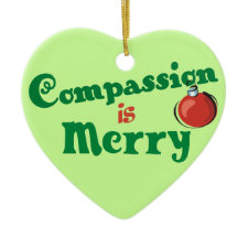 Compassion Christmas ornament