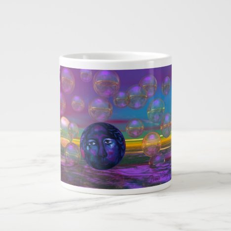 Compassion – Violet and Gold Awareness Giant Coffee Mug