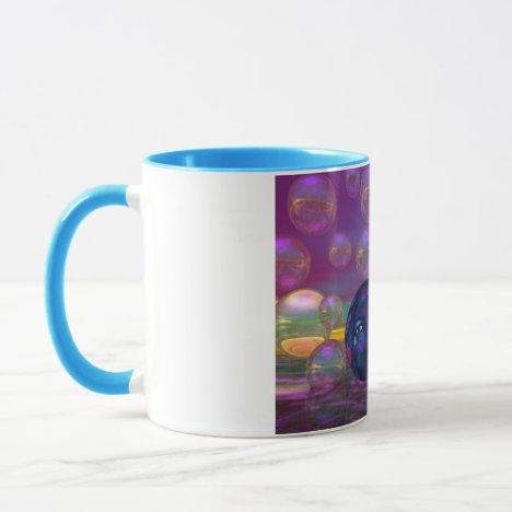 Compassion – Violet and Gold Awareness Mug