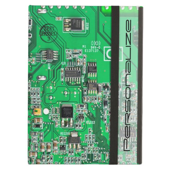 Technician Tech Circuit Board Chubby Business Card Template Zazzle