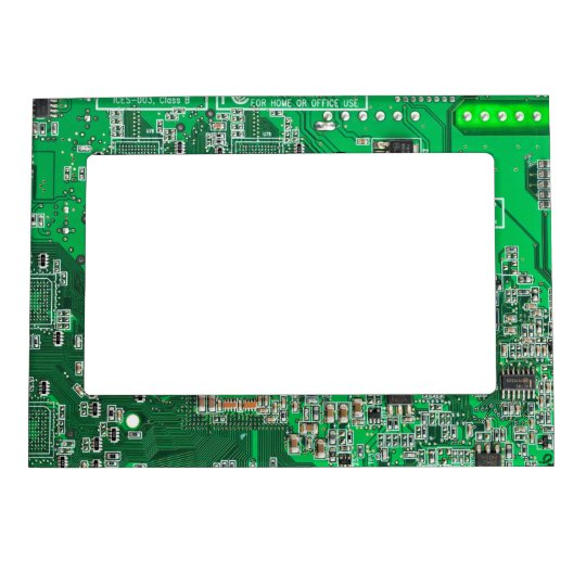 Green Circuit Board Picture Frame By Robyriker