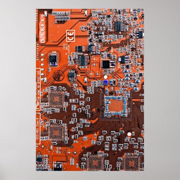 Electronic Communication Circuit Board Business Business Card Zazzle