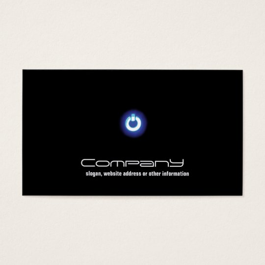 Computer Repair Business Card Electronic Circuits Zazzle