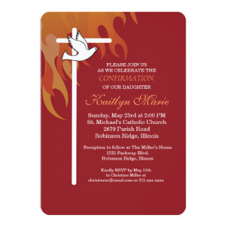 Confirmation Invitations Amp Announcements Zazzle