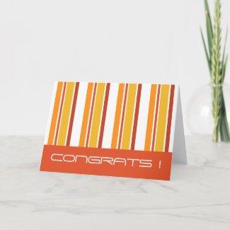 CONGRATS ! - Card