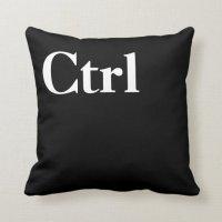 Control Alt Delete Ctrl Alt Del Throw Pillow   Zazzle.com