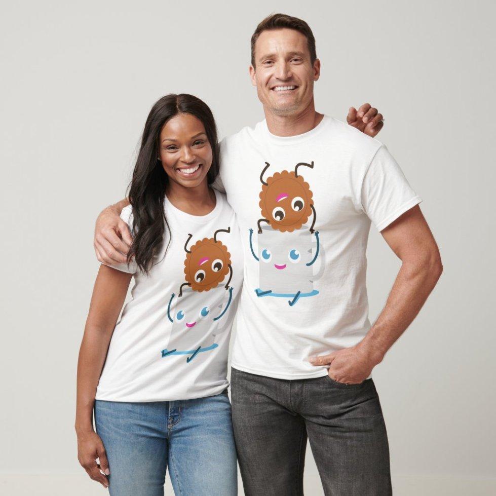 Cookie and Milk Best Friend T-Shirt