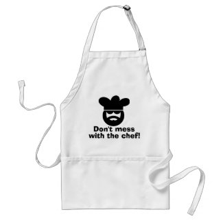Cool apron for men   Don't mess with the chef