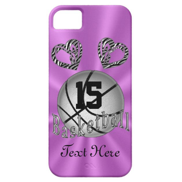 Cool iPhone 5S Basketball Cases for Women  Girls  Zazzlecom