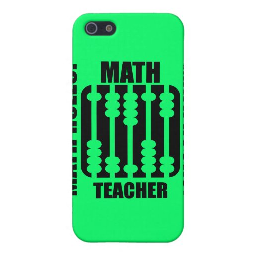 cool math teacher cover for iPhone SE55s  Zazzle